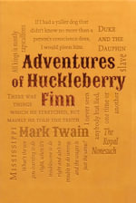 Adventures of Huckleberry Finn : Word Cloud Classics - Mark Twain