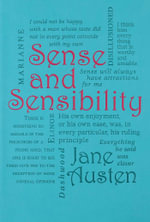 Sense and Sensibility : Word Cloud Classics - Jane Austen