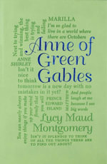 Anne of Green Gables : Word Cloud Classics - Lucy Maud Montgomery
