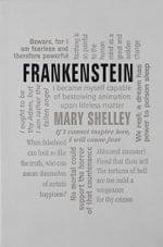 Frankenstein : Word Cloud Classics - Mary Shelley