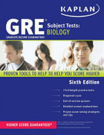 GRE Subject Test Biology : KAPLAN PUBLISHING - Kaplan