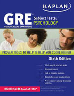 GRE Subject Test Psychology : KAPLAN PUBLISHING - Kaplan