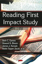 Reading First Impact Study : A Radical Re-Vision of Capitalism - Beth C. Games