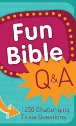Fun Bible Q & A - Inc., Barbour Barbour Publishing
