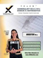 Texes Generalist EC-6 191 Mathematics Boost Edition - Sharon A Wynne