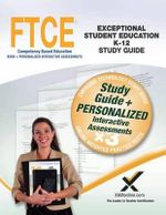 Ftce Exceptional Student Education K-12 Book and Online - Sharon A Wynne