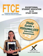 FTCE Exceptional Student Education K-12 Book and Online - Sharon A. Wynne