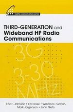 Third-generation and Wideband HF Radio Communications - Eric E. Johnson