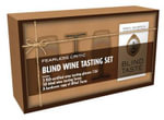 Fearless Critic Blind Wine Tasting Set : Includes 3 ISO-Certified Wine Tasting Glasses 12cl, 50 Blind Wine Tasting Forms, and a Hardcover Copy of Blind Taste - Robin Goldstein
