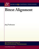 Bitext Alignment - J. Rg Tiedemann