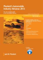 Plunkett's Automobile Industry Almanac 2013 - Jack W. Plunkett