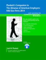 Plunkett's Companion to The Almanac of American Employers 2014 - Jack W. Plunkett