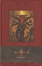 Diablo Burning Hells Blank Journal : Burning Hells Hardcover Large Unlined Journal - Blizzard Entertainment