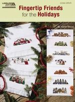 Fingertip Friends for the Holidays (Leisure Arts #5521) : Knit Doilies - Karen Wood