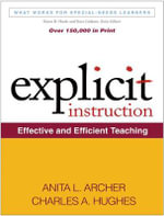Explicit Instruction : Effective and Efficient Teaching - Anita L. Archer