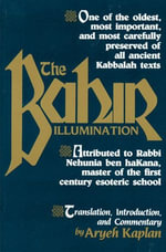 The Bahir : Illumination - Aryeh Kaplan