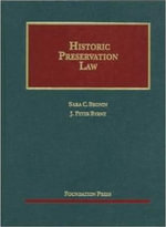 Historic Preservation Law - Sara C Bronin