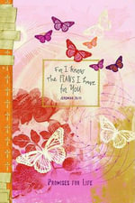 For I Know the Plans I Have for You (Butterfly) :  Pocket Inspirations