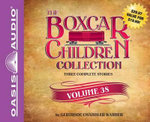 The Boxcar Children Collection Volume 38 (Library Edition) : The Ghost in the First Row, the Box That Watch Found, a Horse Named Dragon - Gertrude Chandler Warner