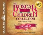 The Boxcar Children Collection Volume 14 (Library Edition) : The Canoe Trip Mystery, the Mystery of the Hidden Beach, the Mystery of the Missing Cat - Gertrude Chandler Warner