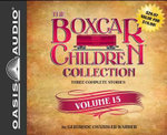 The Boxcar Children Collection Volume 15 : The Mystery on Stage, the Dinosaur Mystery, the Mystery of the Stolen Music - Gertrude Chandler Warner