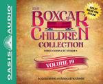 The Boxcar Children Collection Volume 19 (Library Edition) : The Mystery of the Secret Message, the Firehouse Mystery, the Mystery in San Francisco - Gertrude Chandler Warner