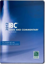 2012 International Building Code Commentary Combo (Vol. 1 & 2) CD ROM - International Code Council (ICC)