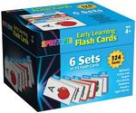 Early Learning Flash Cards : 6 Sets of 54 Flash Card - Carson-Dellosa Publishing