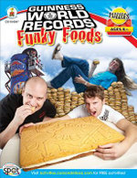 Guinness World Records(r) Funky Foods, Grades 3 - 5 : Guinness World Records - Shirley Pearson