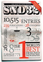 The Best of News Design 32nd Edition - Society for News Design