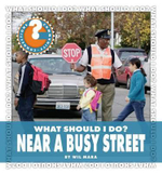 What Should I Do? Near a Busy Street : Community Connections: What Should I Do? (Library) - Wil Mara