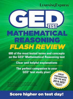 GED Test Mathematics Flash Review - LearningExpress LLC