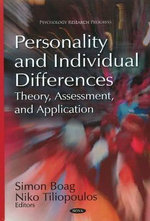 Personality & Individual Differences : Theory, Assessment & Application