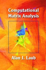Computational Matrix Analysis - Alan J. Laub