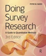 Doing Survey Research - Peter M. Nardi