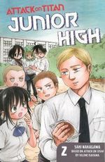Attack on Titan : Junior High 2 - Hajime Isayama