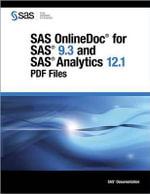 SAS Onlinedoc for SAS 9.3 and SAS Analytics 12.1 : PDF Files - Sas Institute