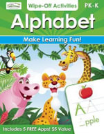 Alphabet Wipe-Off Activities : Endless Fun to Get Ready for School! - Alex A Lluch