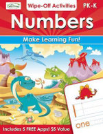 Numbers Wipe-off Activities : Endless Fun to Get Ready for School! - Alex A. Lluch