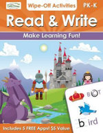 Read & Write Wipe-off Activities : Endless Fun to Get Ready for School! - Alex A. Lluch
