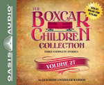 The Boxcar Children Collection, Volume 27 : The Mystery at the Crooked House/The Hockey Mystery/The Mystery of the Midnight Dog - Gertrude Chandler Warner