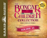 The Boxcar Children Collection Volume 33 : The Radio Mystery, the Mystery of the Runaway Ghost, the Finders Keepers Mystery - Gertrude Chandler Warner