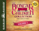 The Boxcar Children Collection Volume 7 : Benny Uncovers a Mystery, the Haunted Cabin Mystery, the Deserted Library Mystery - Gertrude Chandler Warner
