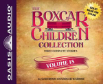 The Boxcar Children Collection Volume 18 : The Mystery of the Lost Mine, the Guide Dog Mystery, the Hurricane Mystery - Gertrude Chandler Warner