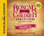 The Boxcar Children Collection Volume 23 : The Mystery of the Stolen Sword, the Basketball Mystery, the Movie Star Mystery - Gertrude Chandler Warner