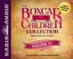 The Boxcar Children Collection Volume 24 : The Mystery of the Pirate's Map, the Ghost Town Mystery, the Mystery in the Mall - Gertrude Chandler Warner