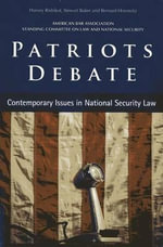 Patriots Debate : Madison vs. Monroe, the Bill of Rights, and the El...