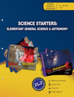 Science Starters : Elementary General Science & Astronomy Parent Lesson Planner