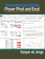 Dashboarding and Reporting with Power Pivot and Excel : How to Design and Create a Financial Dashboard with PowerPivot - End to End - Kasper de Jonge