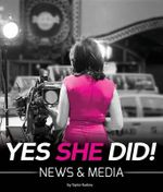 Yes She Did! : News & Media - Taylor Rudow